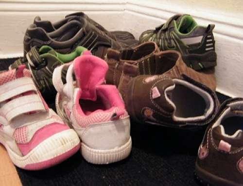 Schuhe platzsparend aufbewahren
