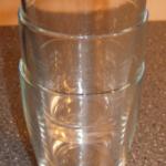 Wenn ein Glas im anderen feststeckt