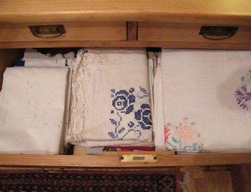 Flecken aus Tischtücher leichter entfernen