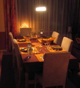 Fondueparty für Silvester
