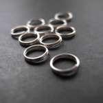 spaltringe 150x150 Ketten und Ohrringe mit Perlen selber basteln