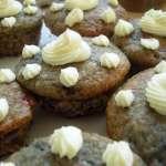 Schnelle Verzierung mit Mascarpone für Muffins oder Torten
