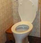 Backpulver und Toilette