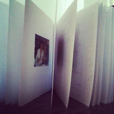 Fotoalbum als Erinnerung an Hochzeit