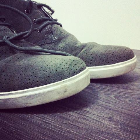 Schuhe - Pflege und Reinigung von Wildlederschuhen