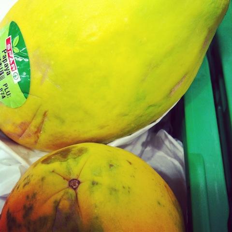 Papaya für die Schönheit