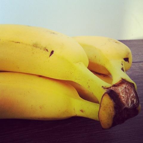 Banane für eine selbst gemachte Gesichtsmaske