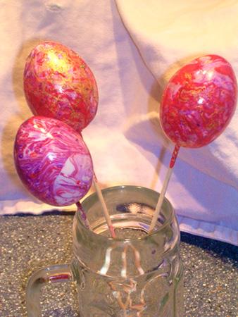 Ostereier Bastelei für Kinder zu Ostern
