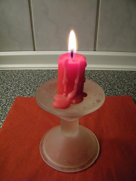 Kerzenwachs