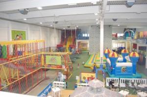 Erdgeschoß Indoorspielplatz Family Fun