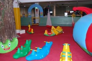 Kiddys Bereich im Indoorspielplatz