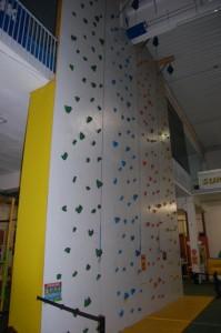 Kletterwand Indoorspielplatz Family Fun