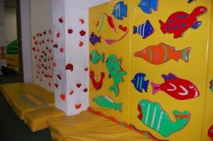Kletterwand für Kleine im Family Fun