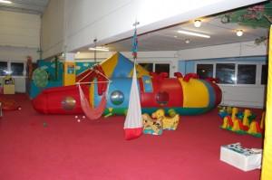 Raupe im Kiddys Bereich im Indoorspielplatz
