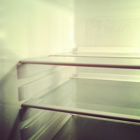 Kühlschrank mit Essig reinigen