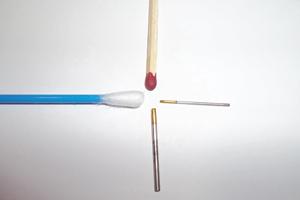 Hohlnadeln für FUE-Eigenhaartransplantation