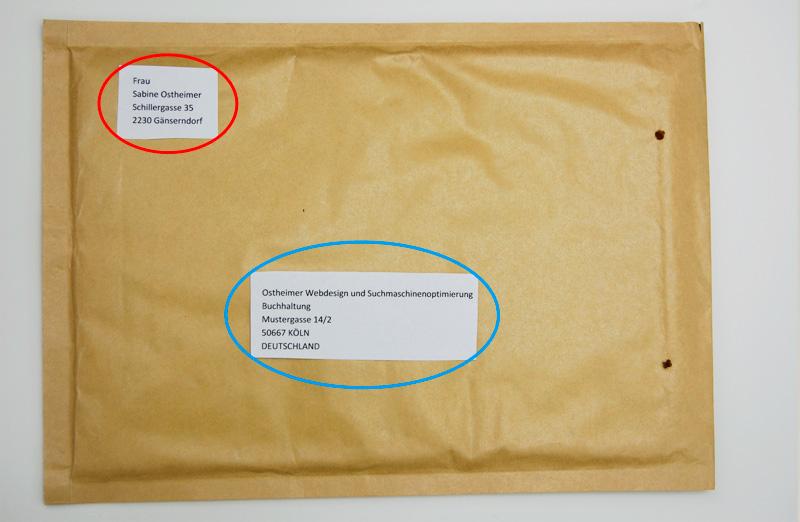 Brief Nach Wien Versenden : Richtig adressieren und beschriften für die