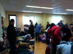 Flohmarkt der Kinderfreunde in Gänserndorf