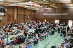 Flohmarkt in der Stadthalle in Gänserndorf