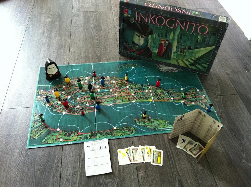 Inkognito - Gesellschaftsspiel