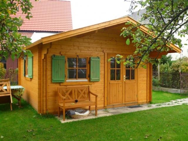 Blockhaus von GSP-Gartenhaus