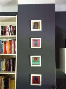 Welche Farben Für Die Innenräume? | Onlinemagazin Rund Um Haushalt ... Dunkelgraue Wandfarbe Mit Muster