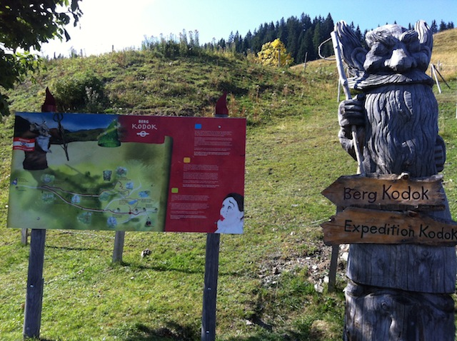 Berg Kodok - Wandern mit Kindern in Saalbach