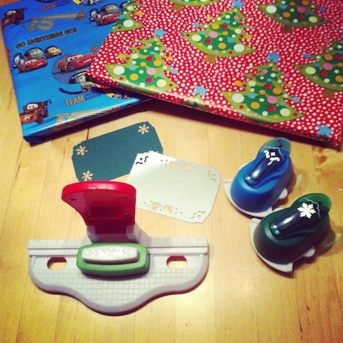 Karten mit Stanzset für Weihnachten gestalten