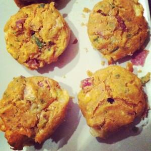 Pizzamuffins schnell zubereiten - ideal für Kindergeburtstag