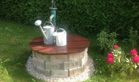 Recycling Brunnen selber bauen