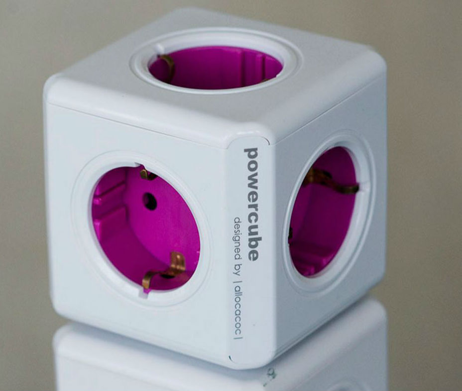 PowerCubes - Steckdosen-Würfel - allocacoc