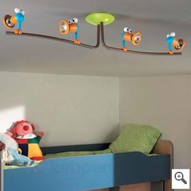 Kinderzimmer-Deckenleuchter Birdey bei lampenwelt.at