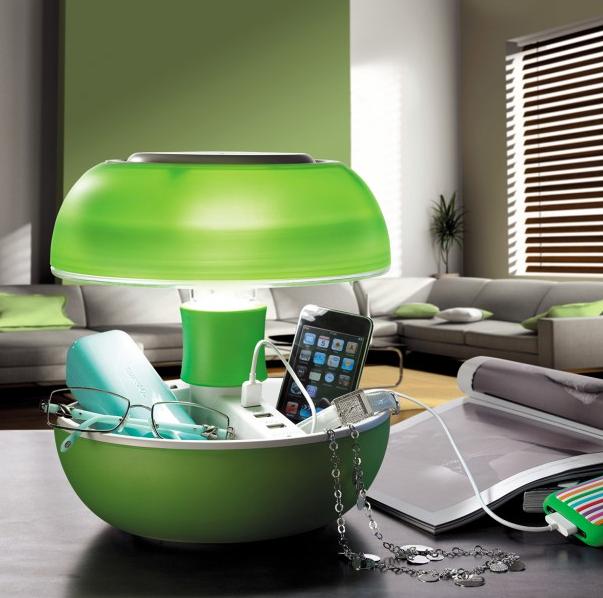 Tischlampe mit USB Ports bei radbag-at