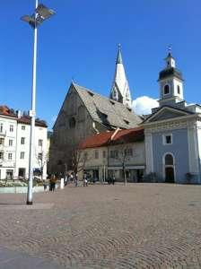 Hauptplatz in Brixen - Südtirol