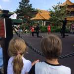 Phantasialand - Show auf der Open Air Bühne in China Town
