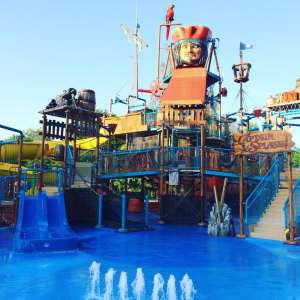 Therme Bad Schallerbach - Captain Splash im Freien