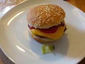 Hamburger selbstgemacht