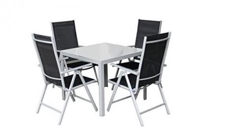 Gartenmöbel Sets aus Aluminium