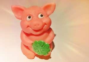 Marzipan-Schweinchen