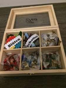 Geldgeschenk - Teebox füllen: Kröten, Mäuse, Schotter, Knete