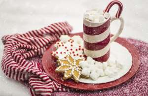 Schneemannsuppe: Heiße Schokolade mit Marshmallows