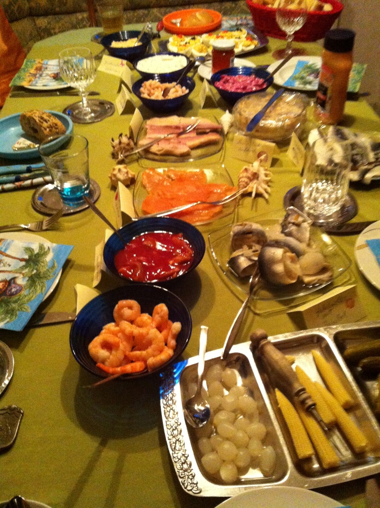 Heringsschmaus-Fischessen-Buffet