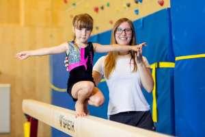 Kindersport bei Gymnastics Gänserndorf