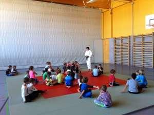 Judo Training in Gänserndorf in der Volksschule