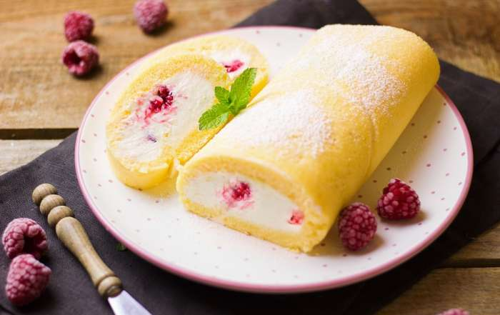 Roulade backen