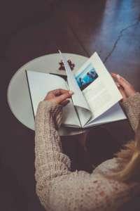 Buch mit Fotos