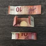 Geldgeschenk Tannenbaumkarte - Geld falten