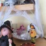 Halloween-Dekoration: Spinnennetz